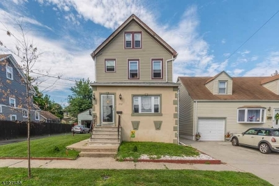 Roselle Park Boro Single Family Home Active Under Contract: 232 Pershing Ave