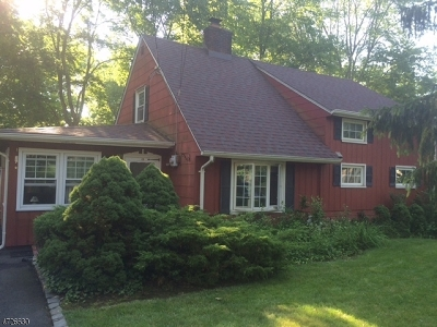 New Providence Boro Single Family Home For Sale: 28 Vista Ln