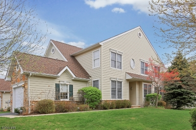 Bernards Twp. Condo/Townhouse For Sale: 25 Patriot Hill Dr
