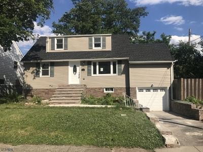 Hillside Twp. Single Family Home For Sale: 1241 Gurd Ave