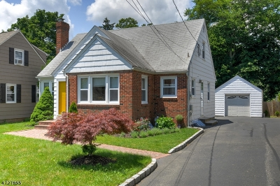 Scotch Plains Twp. Single Family Home For Sale: 2215 Evergreen Ave