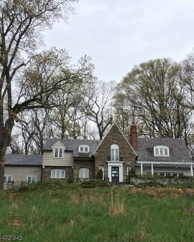 Morris Twp. Single Family Home For Sale: 419 Mount Kemble Ave