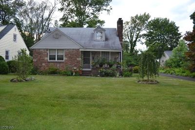Scotch Plains Twp. Single Family Home For Sale: 1923 Sunset Pl