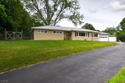 Bridgewater Twp. Single Family Home For Sale: 2235 Washington Valley Rd