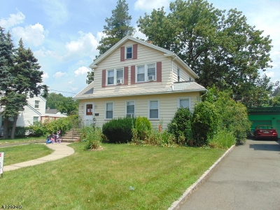 Hillside Twp. Single Family Home For Sale: 829 Jerome Ave