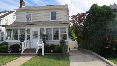 Elizabeth City Single Family Home For Sale: 836-838 Bailey Ave