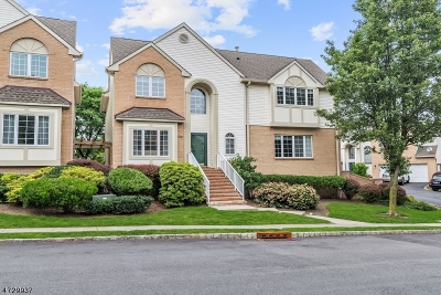 West Orange Twp. Condo/Townhouse For Sale: 1091 Smith Manor Blvd