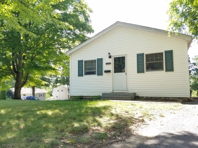 Parsippany Single Family Home For Sale: 372 Halsey Rd