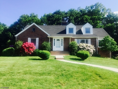 Morris Plains Boro Single Family Home For Sale: 6 Elizabeth Ct