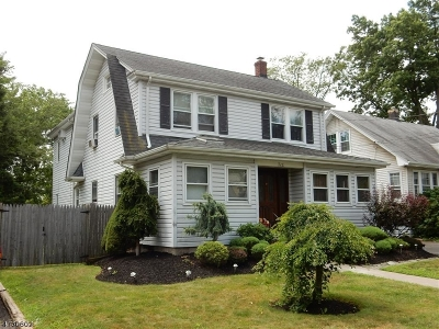 Rahway City Single Family Home For Sale: 712 Central Ave