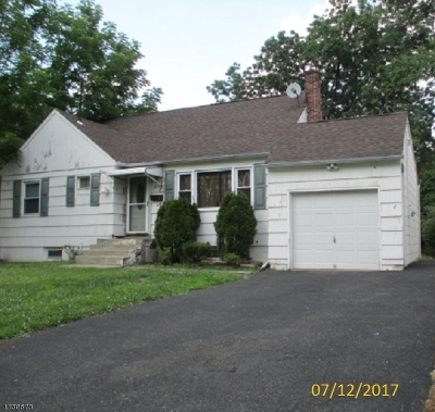 Scotch Plains Twp. Single Family Home For Sale: 315 Farley Ave