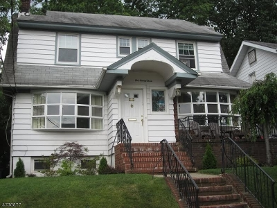 Passaic City Single Family Home For Sale: 123 Amsterdam Ave