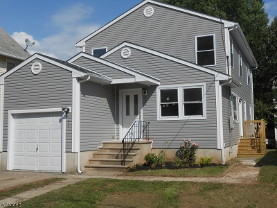 Rahway City Single Family Home For Sale: 2003 Rutherford St