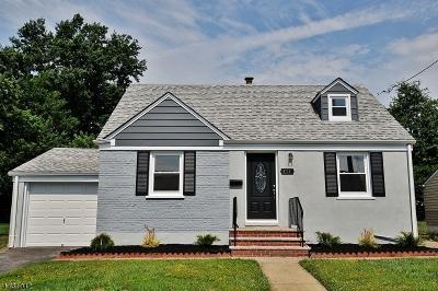 ROSELLE Single Family Home For Sale: 474 Brookside Dr