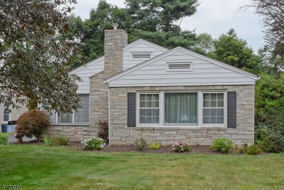 Morris Plains Boro Single Family Home Active Under Contract: 40 Stiles Ave