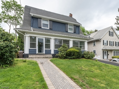 Maplewood Twp. Single Family Home Active Under Contract: 16 Sommer Ave