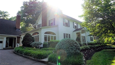 Fanwood Boro Single Family Home For Sale: 87 Forest Rd