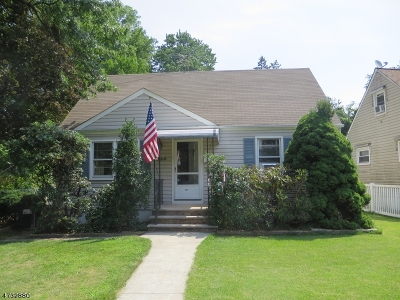 RAHWAY Single Family Home For Sale: 225 Linden Ave