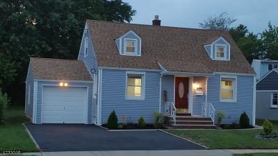 Roselle Boro Single Family Home For Sale: 478 Brookside Dr