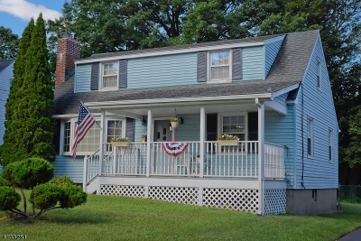 Boonton Town Single Family Home For Sale: 164 Wootton St