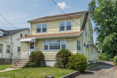 Paterson City Single Family Home For Sale: 192 Trenton Ave