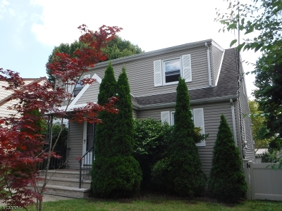 Passaic City Single Family Home For Sale: 189 Willet St