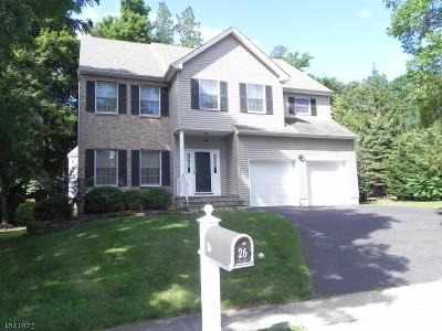 Bernardsville Boro Single Family Home For Sale: 26 Fox Hollow Trl