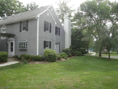 Bernards Twp. Condo/Townhouse For Sale: 83 Countryside Dr