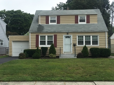Scotch Plains Twp. Single Family Home For Sale: 371 Evergreen Blvd.