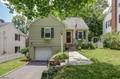 Madison Boro Single Family Home For Sale: 37 Knollwood Ave