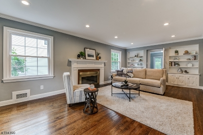 South Orange Village Twp. Single Family Home For Sale: 331 Vose Ave