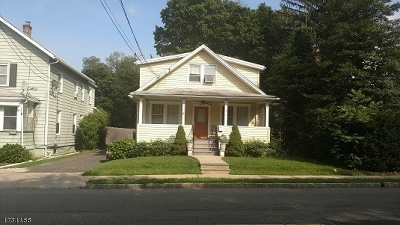Morris Twp. Single Family Home For Sale: 275 Martin Luther King Ave