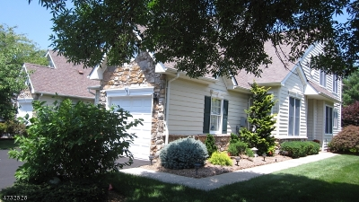Bernards Twp. Condo/Townhouse For Sale: 191 Patriot Hill Dr