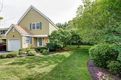 Morris Twp. Condo/Townhouse For Sale: 33 Independence Way