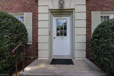 Cranford Twp. Condo/Townhouse For Sale: 45b Parkway Vlg