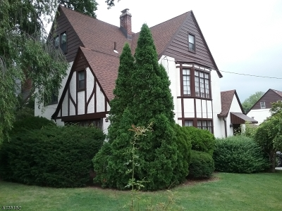 West Orange Twp. Single Family Home For Sale: 181 Mitchell St