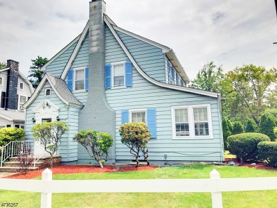 Rahway City Single Family Home For Sale: 955 Pierpont St