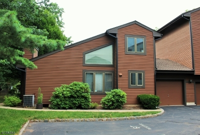 Bernards Twp. Condo/Townhouse For Sale: 67 Aspen Dr