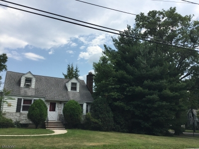 Fanwood Boro Single Family Home For Sale: 164 Watson Rd