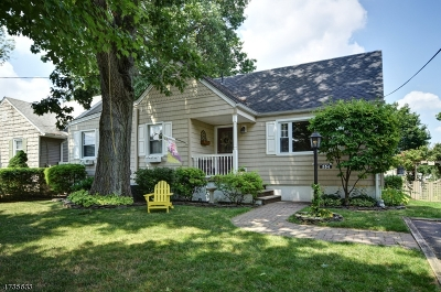 Garwood Boro Single Family Home For Sale: 554 Myrtle Ave