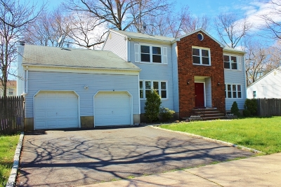 Edison Twp. Single Family Home For Sale: 7 West Dr