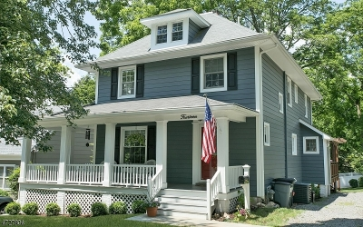 Bernardsville Boro Single Family Home For Sale: 14 Old Army Rd