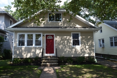 Roselle Boro Single Family Home For Sale: 106 Floral St