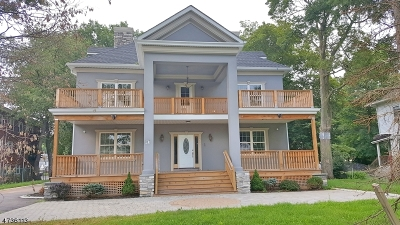 Plainfield City Single Family Home For Sale: 917-21 W 7th St