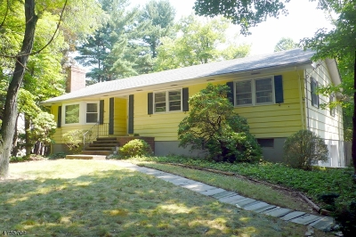 Warren Twp. Single Family Home For Sale: 52 Round Top Rd