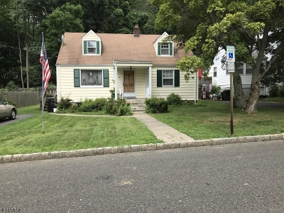Morristown Town Single Family Home Active Under Contract: 10 Milton Pl