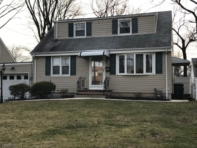 Scotch Plains Twp. Single Family Home For Sale: 314 Willow Ave