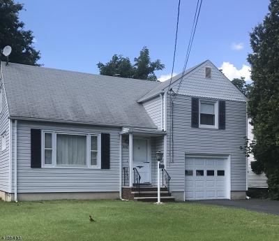 Kenilworth Boro Single Family Home For Sale: 536 Richfield Ave