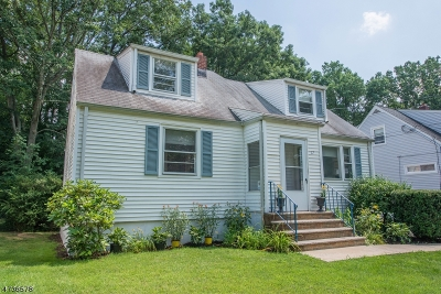 West Orange Twp. Single Family Home For Sale: 17 Hunterdon Rd