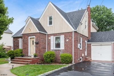 Cranford Twp. Single Family Home For Sale: 27 Iroquois Rd